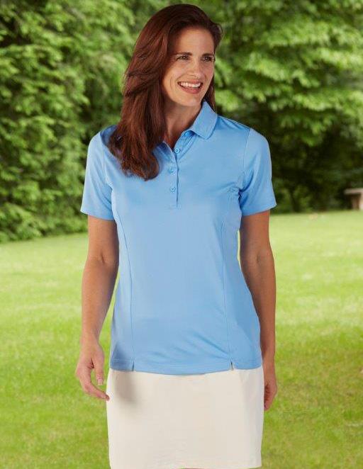 38410e722b54 Bobby Jones Taylor Performance Solid Jersey Polo. WOMENS: BWC23001